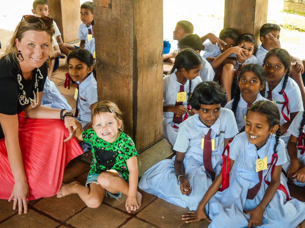 Bezienswaardigheden met kinderen Kandy Sri Lanka