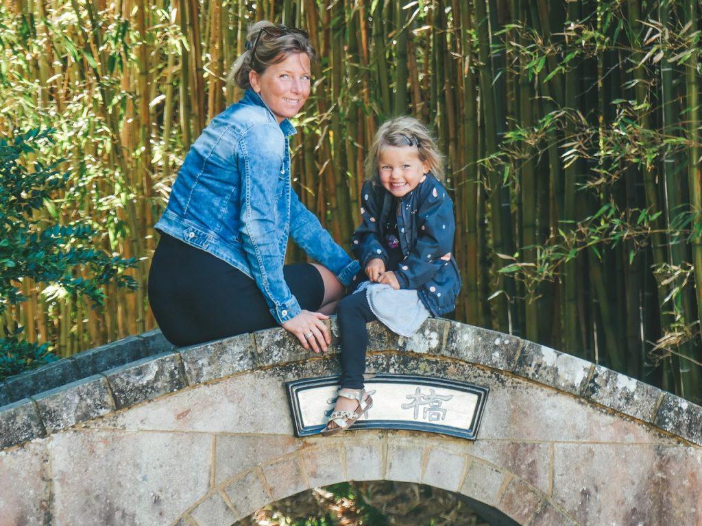 Botanische tuin Hamilton Nieuw Zeeland