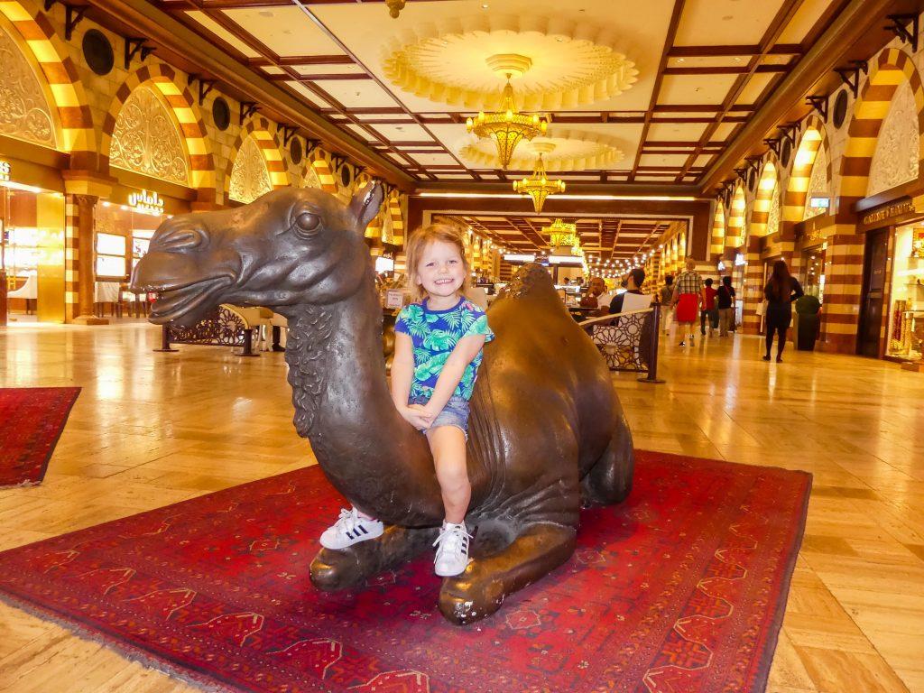 Dubai Mall kinderen spelen