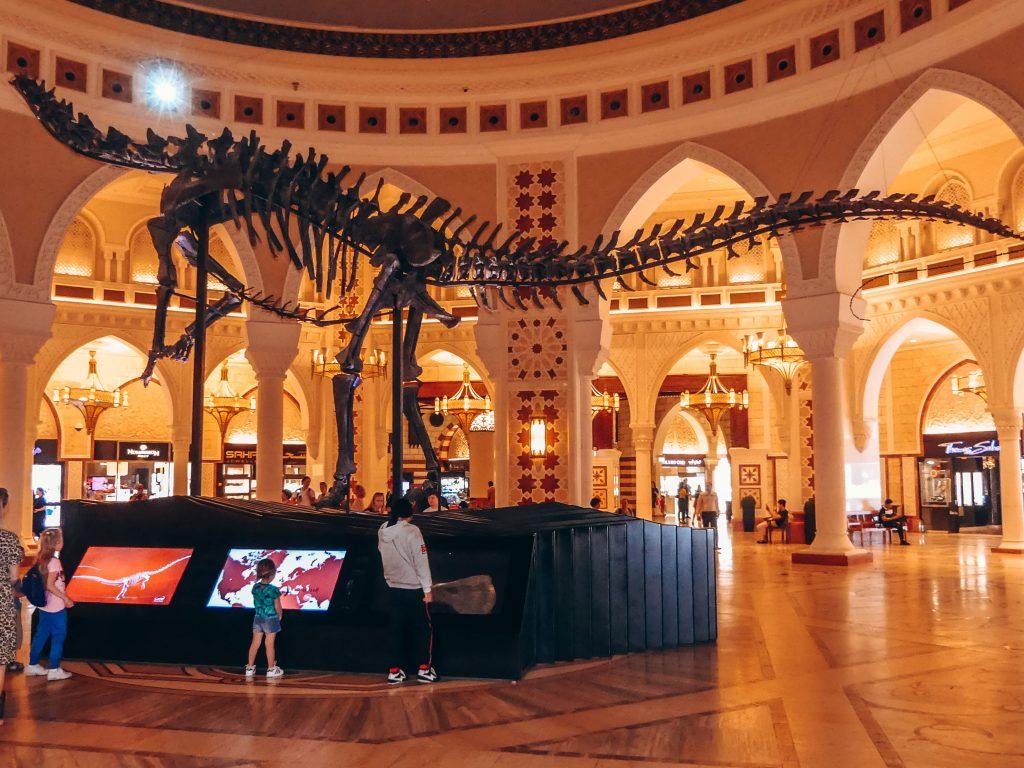 Dubai Mall met gezin en kinderen