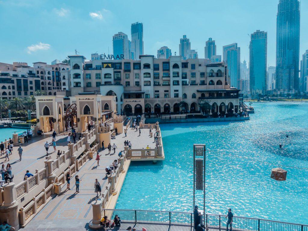 Dubai centrum kinderen
