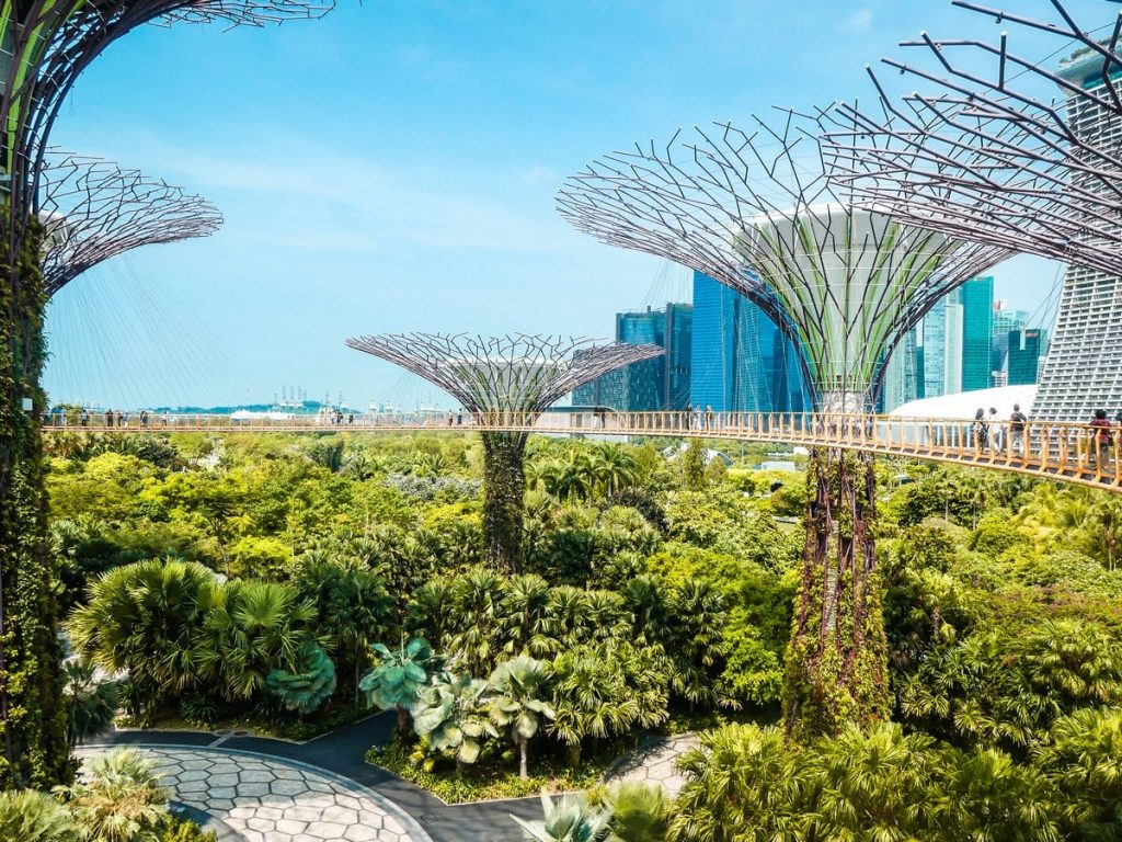 Gardens by the Bay met gezin Singapore
