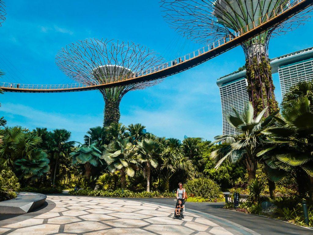 Gardens by the Bay met kinderen Singapore