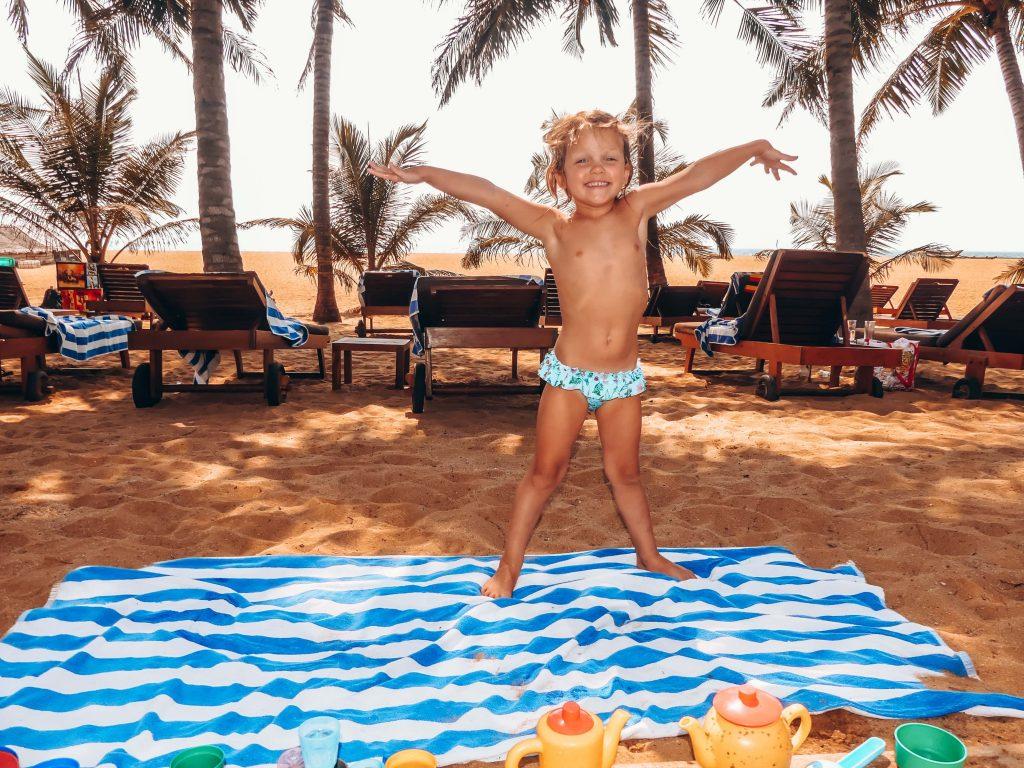 Hotel Negombo Sri Lanka ideaal voor kinderen