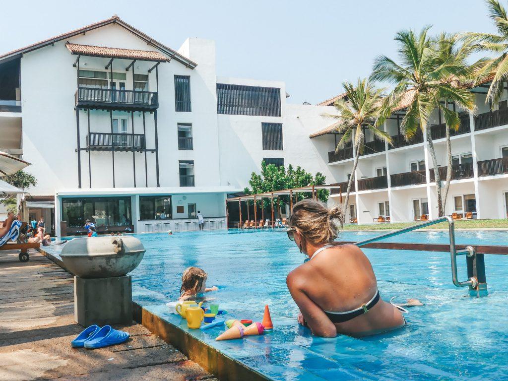 Hotel Negombo Sri Lanka voor het gezin
