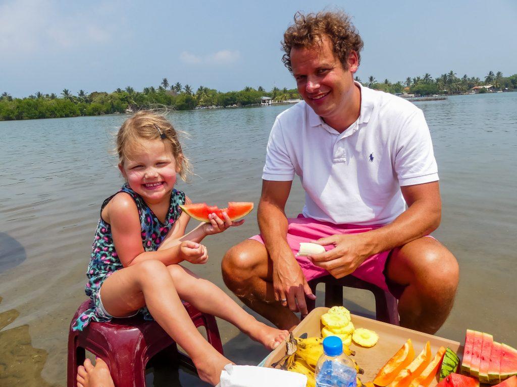 Kanalen tour Negombo met kinderen