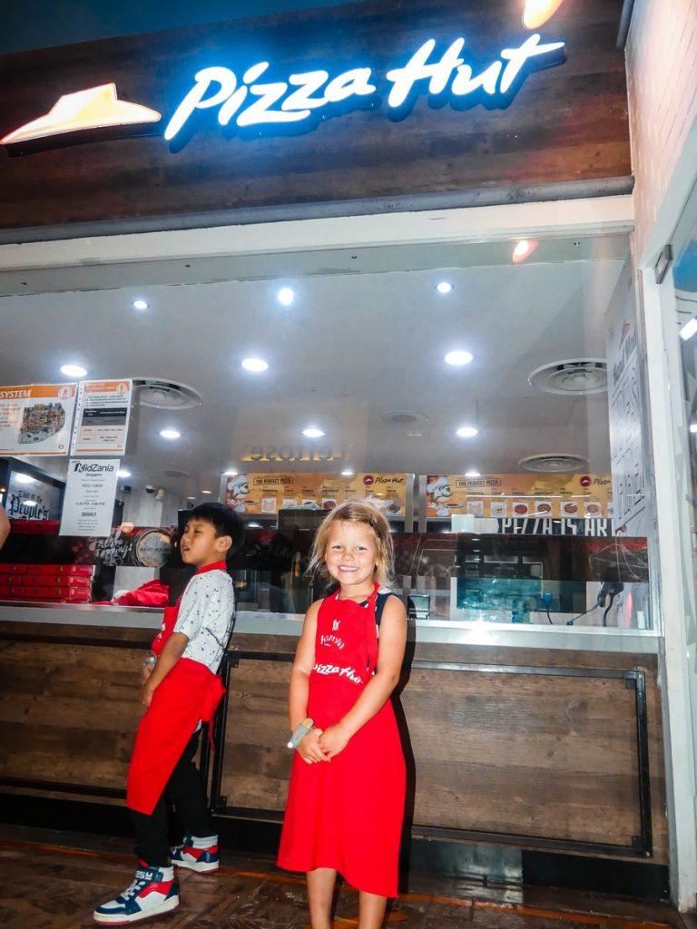 Kidzania met gezin Singapore