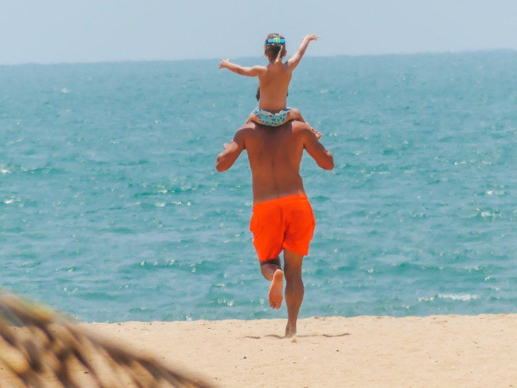 Kindvriendelijke stranden Negombo Sri Lanka