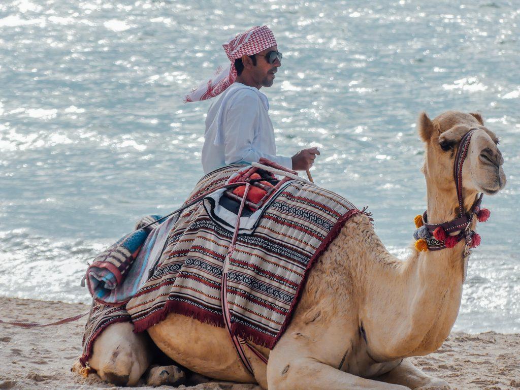 Kite Beach Dubai met gezin