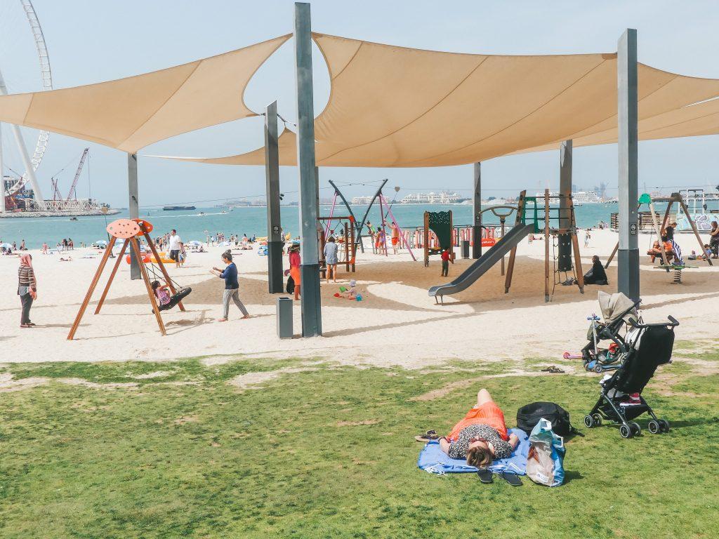 Kite Beach met gezin