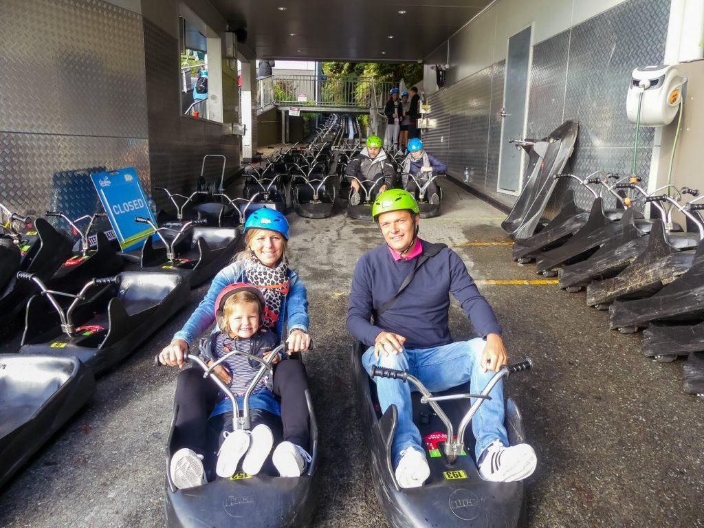 Leuke activiteit met gezin Rotorua Nieuw-Zeeland