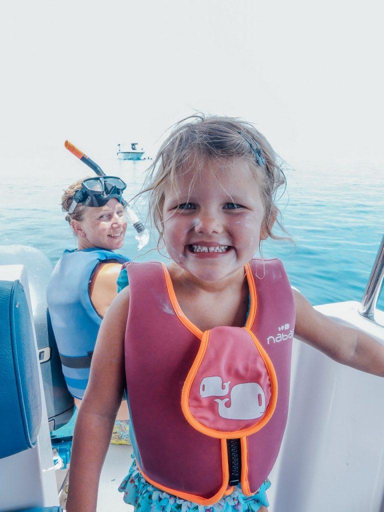 Snorkelen met kinderen Malediven