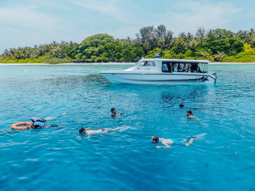 Activiteiten snorkelen met kinderen Malediven
