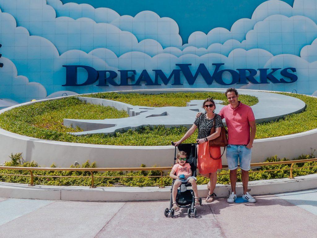 Motiongate Dubai met gezin
