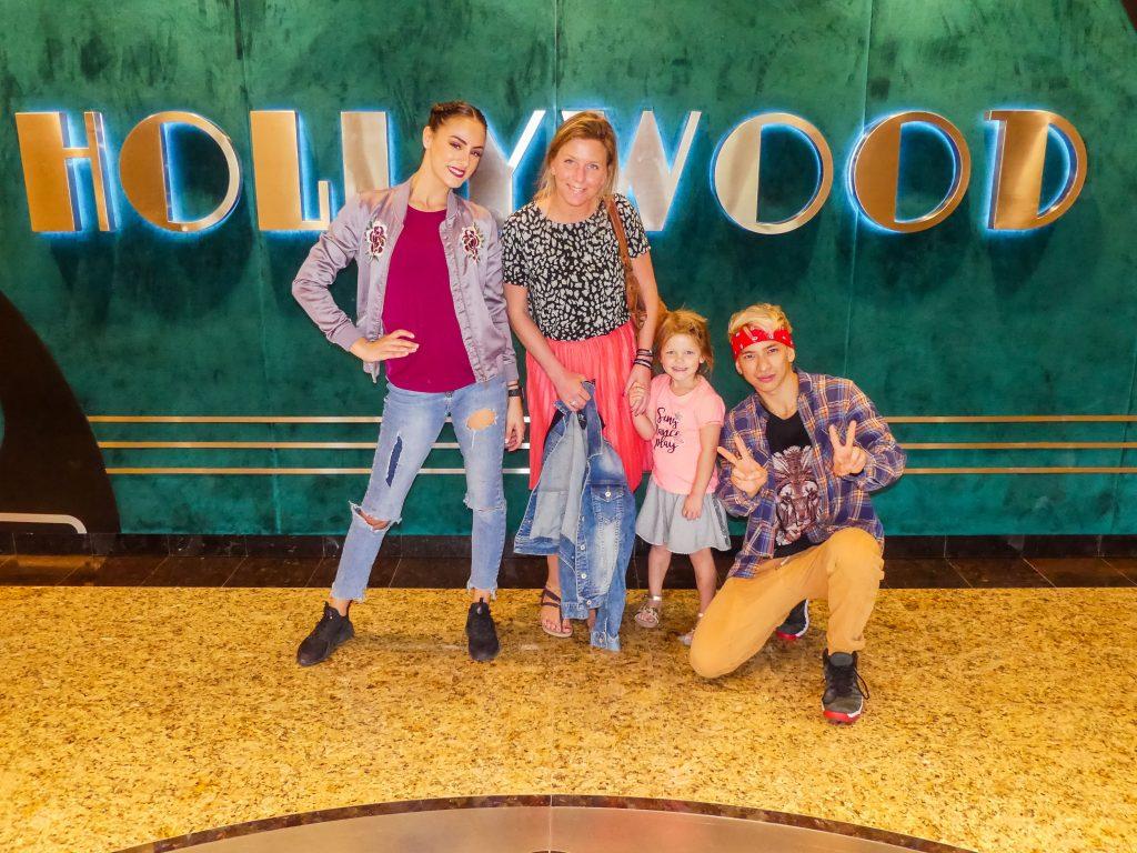 Motiongate Dubai met kids