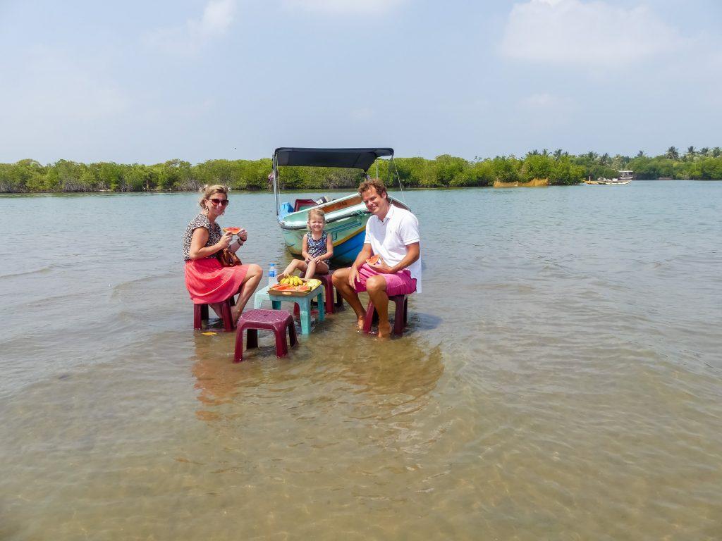 Tour Negombo met kinderen Sri Lanka
