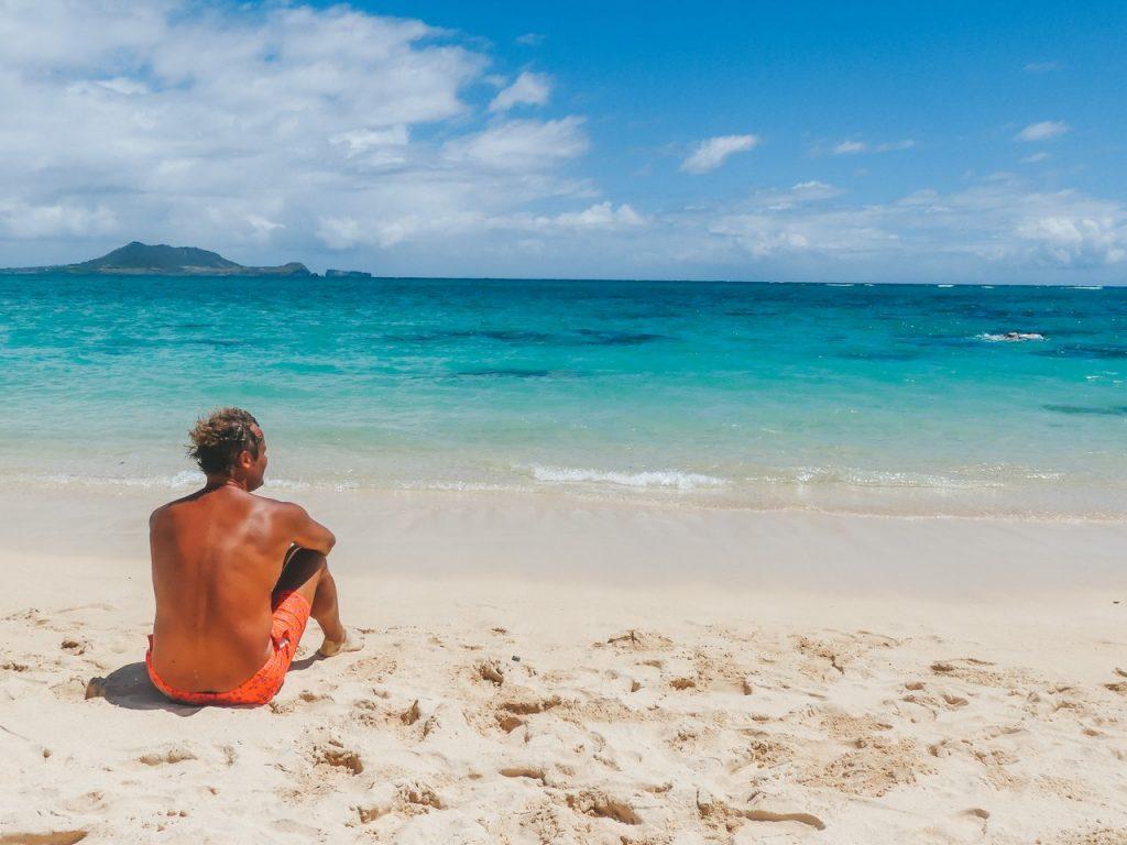 Bounty strand Hawaii met kinderen