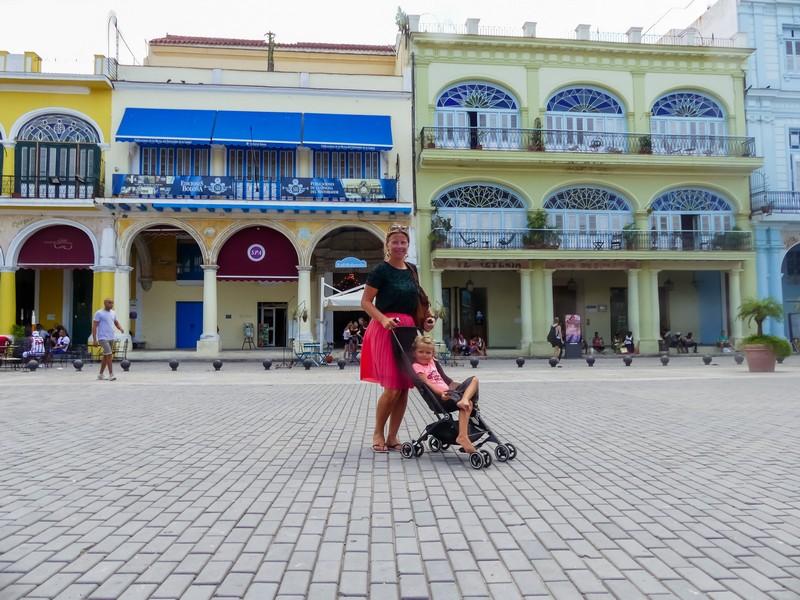 Havana met gezin Cuba