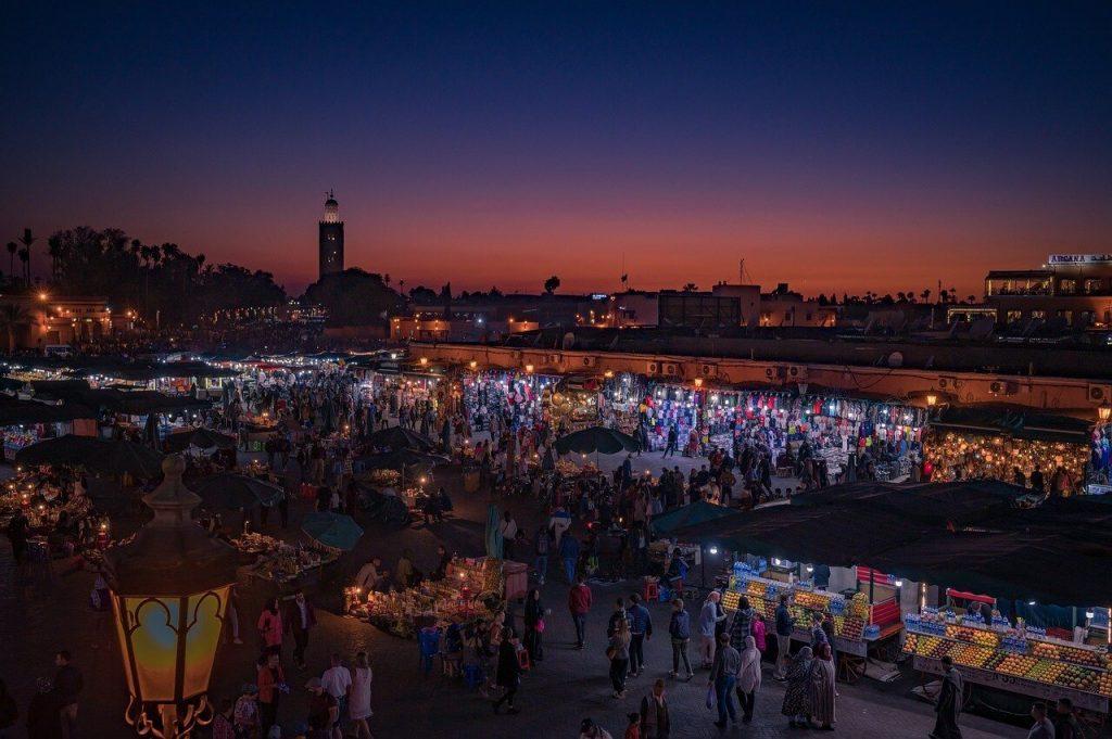 Marrakesh Marokko reis met kinderen