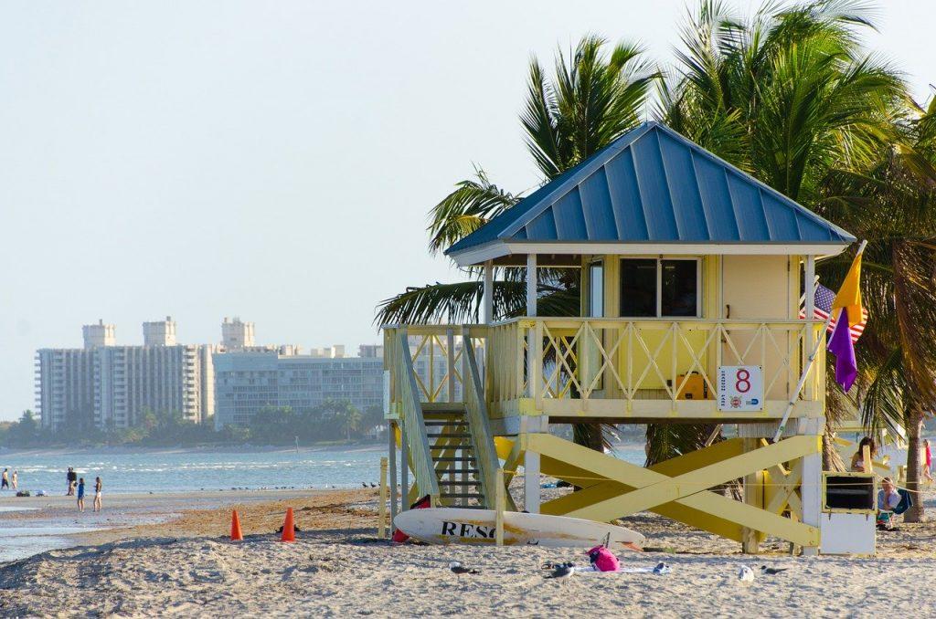 Miami Beach met kinderen