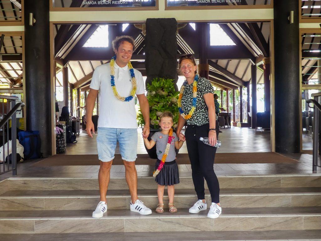 Samoa wereldreis met kinderen en gezin