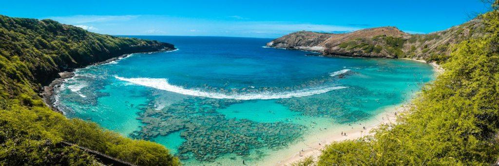 Snorkelen Hawaii met gezin en kind