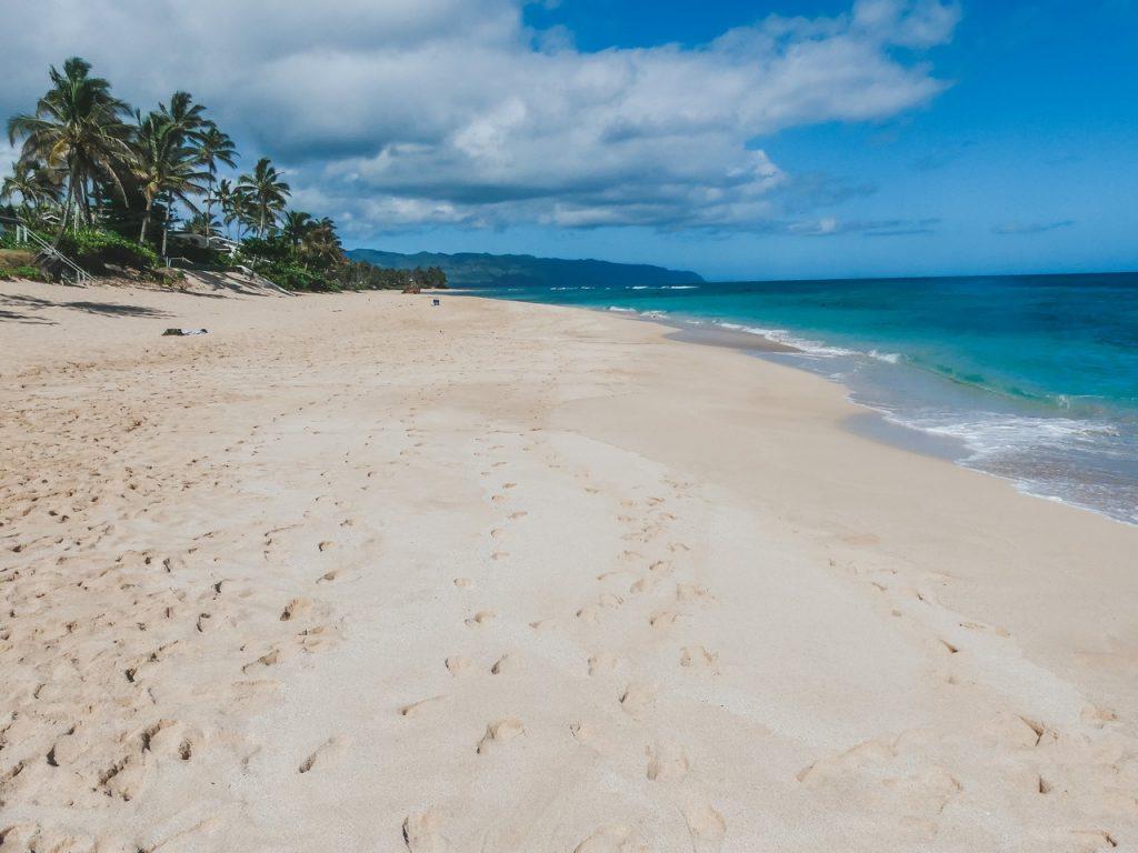 Strand snorkelen met gezin op reis