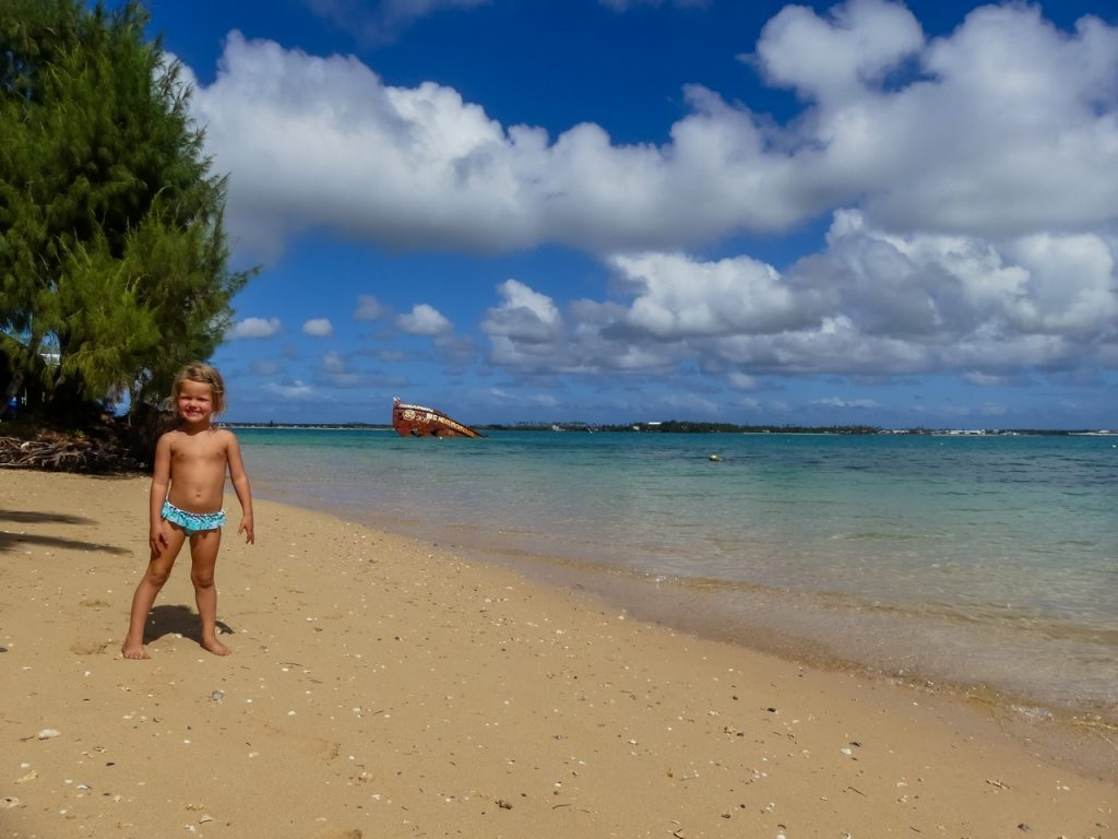 Tonga wereldreis met kind en gezin