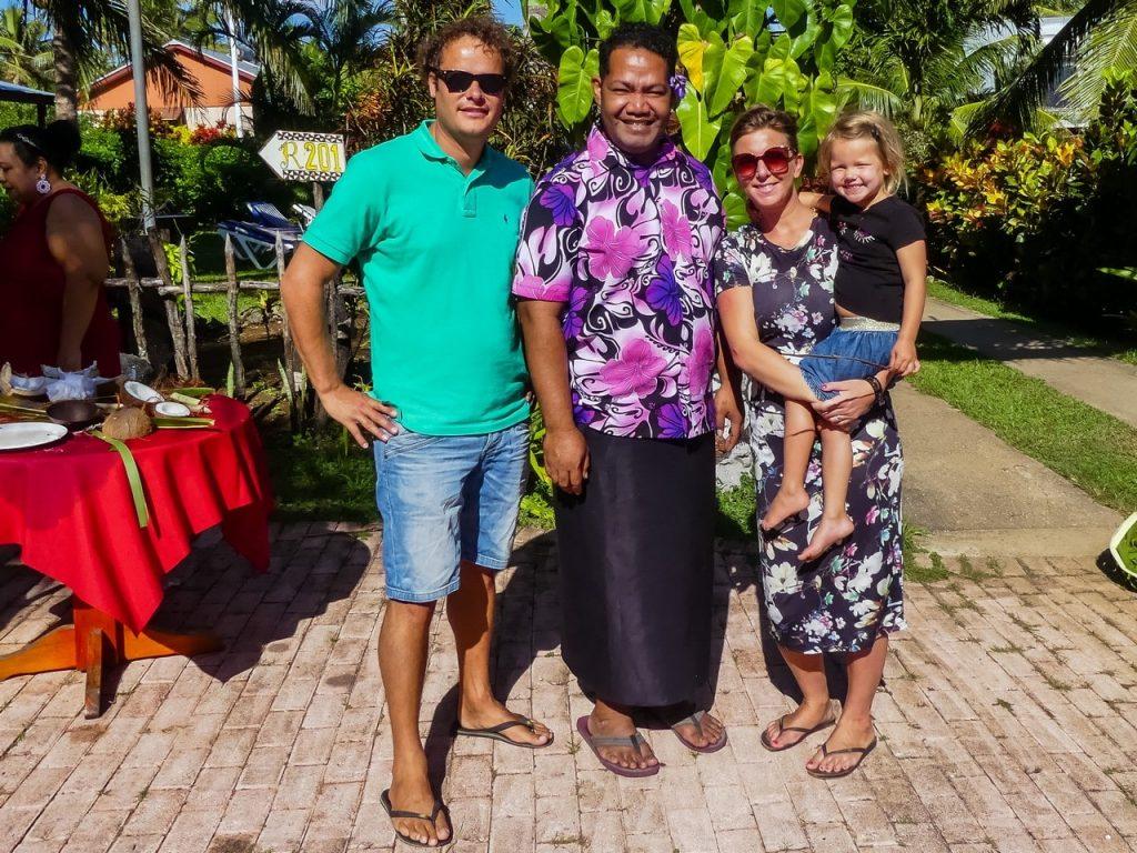 Tonga wereldreis met kinderen en gezin