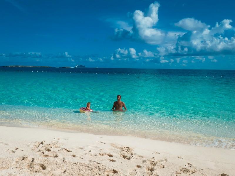 Vakantie Bahamas gezin
