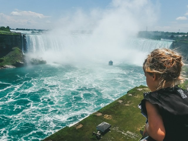 Niagara Falls Canada met kinderen