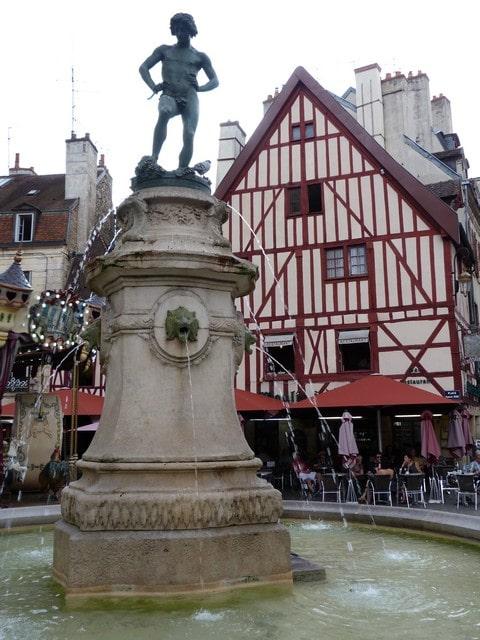 Dijon met kinderen