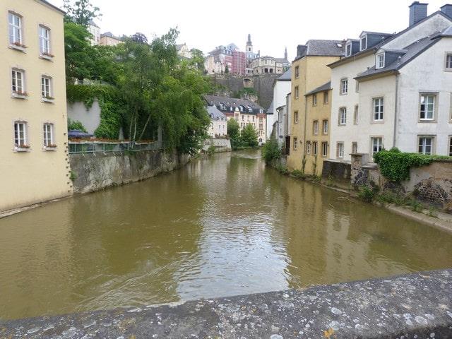Luxemburg stad met kinderen