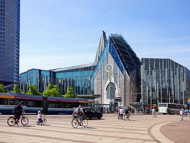 Leipzig met kinderen