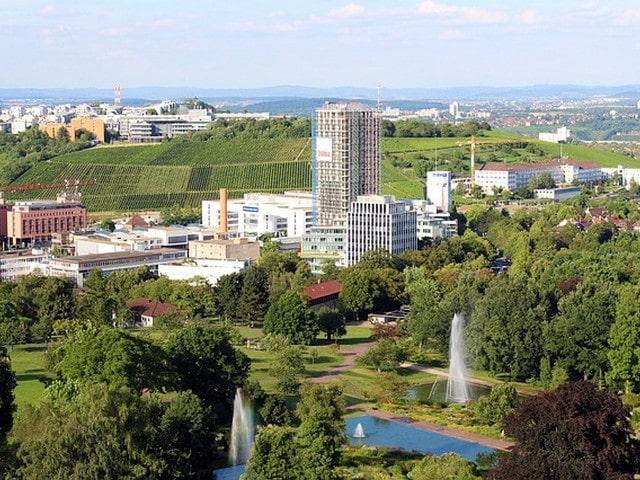 Stuttgart met kinderen