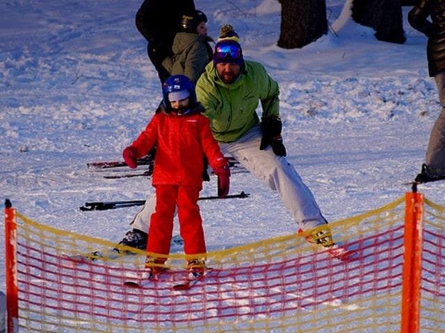 Winterberg met kinderen-