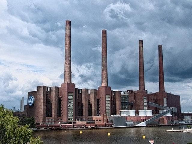 Wolfsburg met kinderen