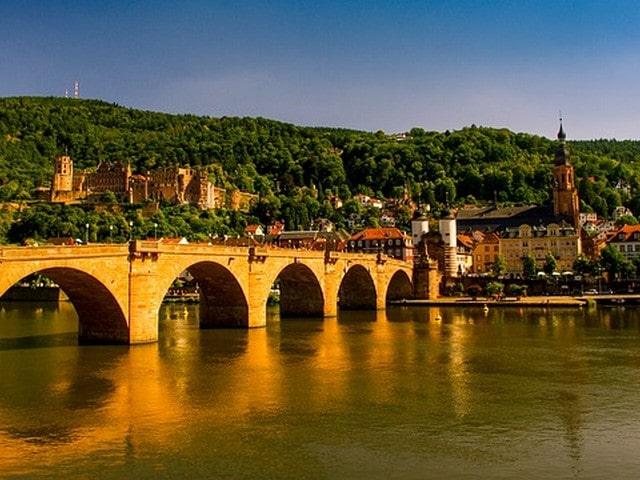 Heidelberg met kinderen