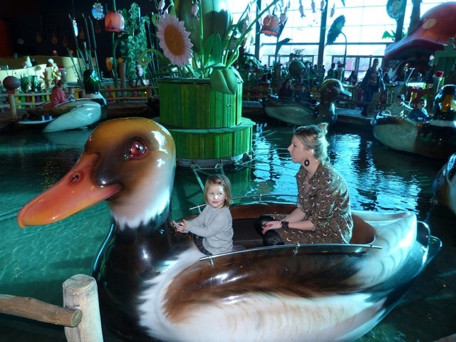 Plopsa Indoor Hasselt met kinderen