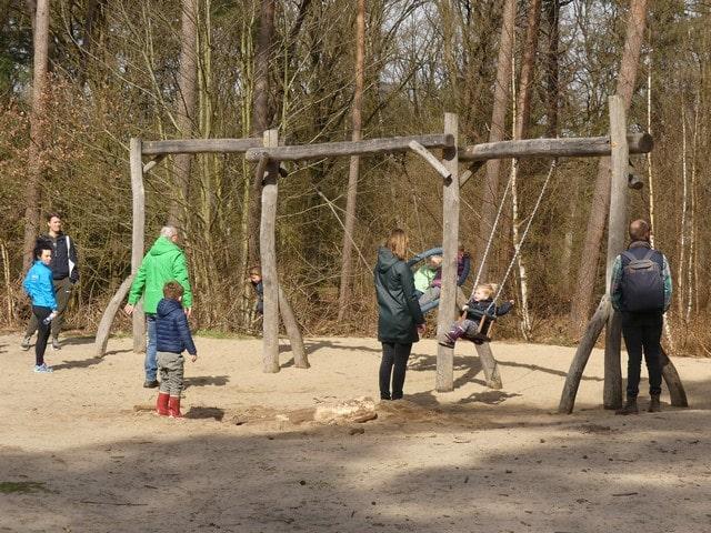 Speelbos Mierlo met kinderen