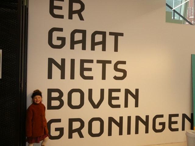 Provincie Groningen met kinderen