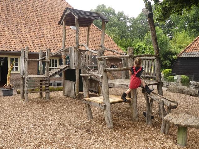 Dierenpark De Oliemeulen met kinderen