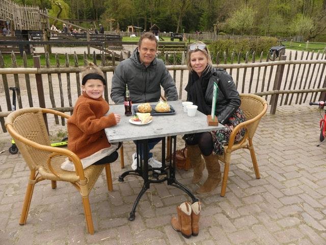 Amsterdamse bos met kinderen