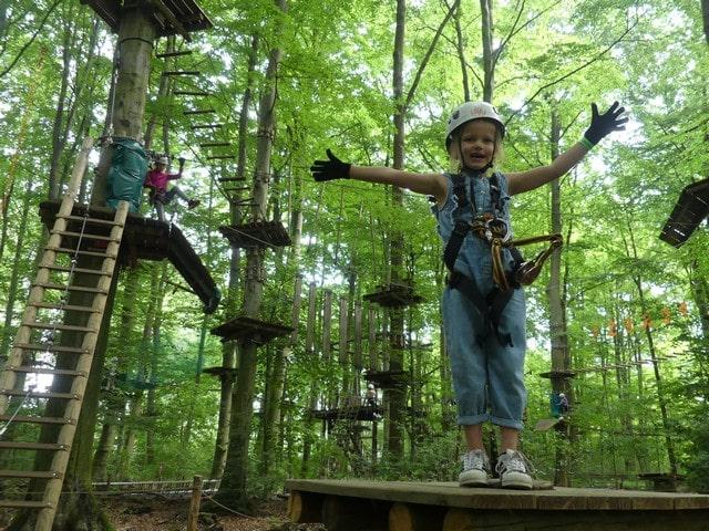 Klimpark Fun Forest Amsterdam met kinderen