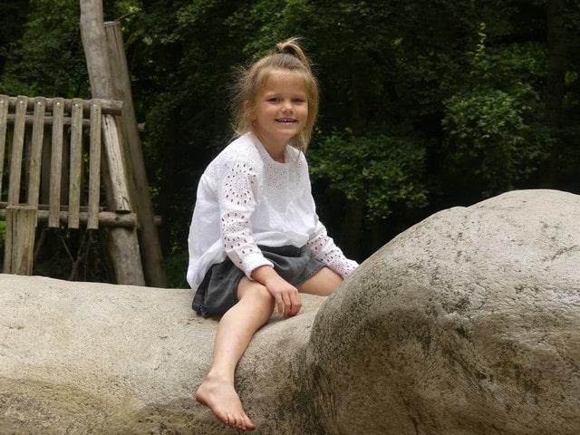 Kralingse bos met kinderen
