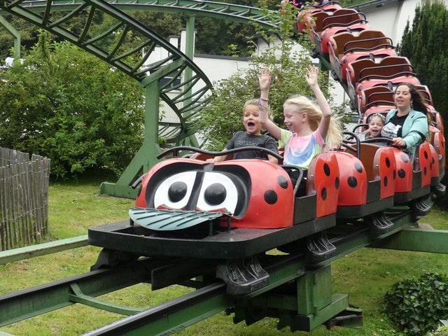 Pretpark Tivoli met kinderen