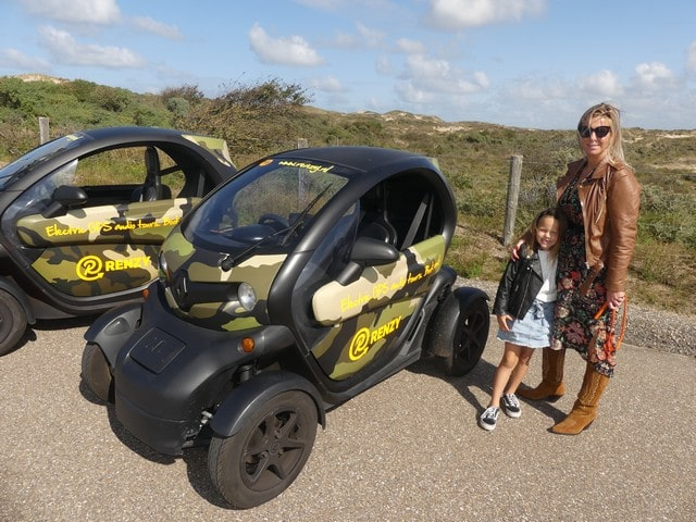 Renzy GPS tour met kinderen