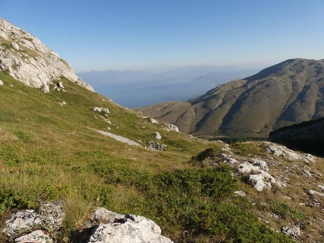 Beklimming Magaro berg Macedonië