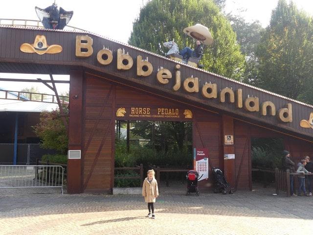 Bobbejaanland met kinderen