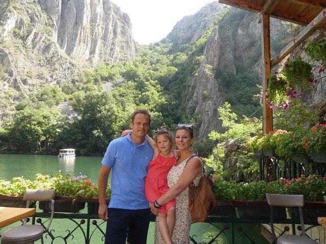 Matka Canyon Macedonië met kinderen